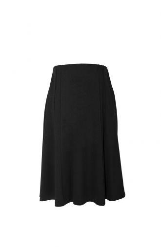 Dzianinowa czarna spódnica