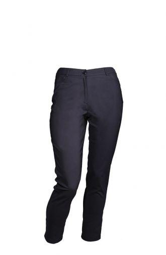 Bawełniane cienkie ciemnoszare spodnie z kieszeniami