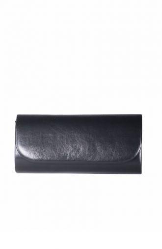 Czarna matowa kopertówka