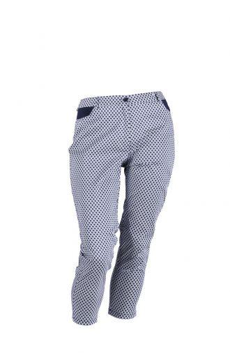 Modne czarne legginsy 7/8-EN