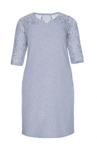 Granatowa sukienka -EN