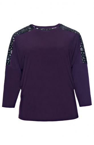 Kobaltowa bluzka wizytowa-EN