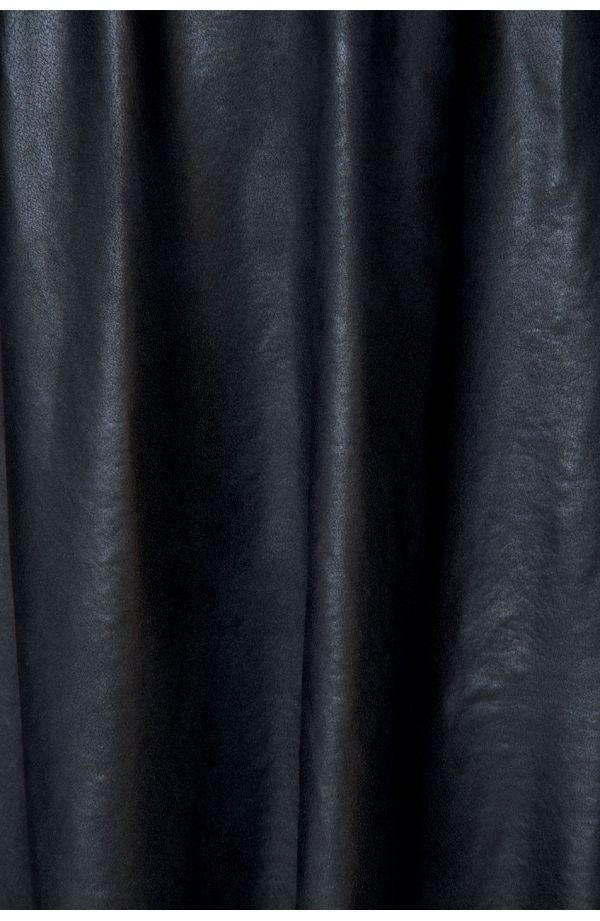 Modna skórkowa tunika z dekoltem