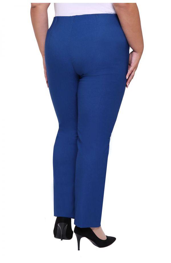 Proste spodnie w kolorze jeansu