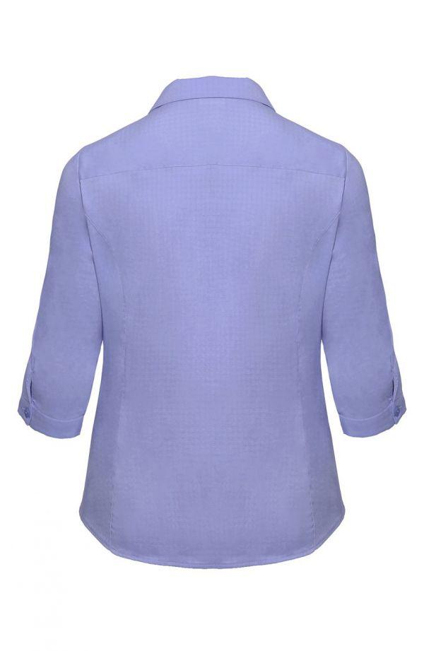 Jasnoniebieska koszula z kołnierzykiem