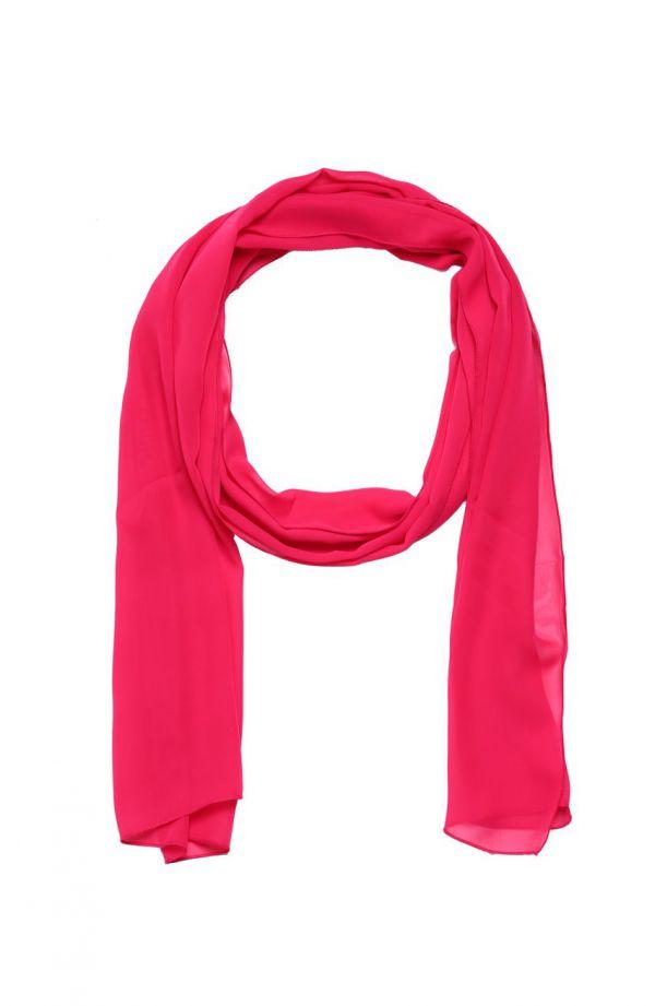 Wizytowy szal w kolorze różowym