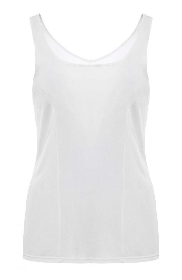 Gładka koszulka w białym kolorze Mewa