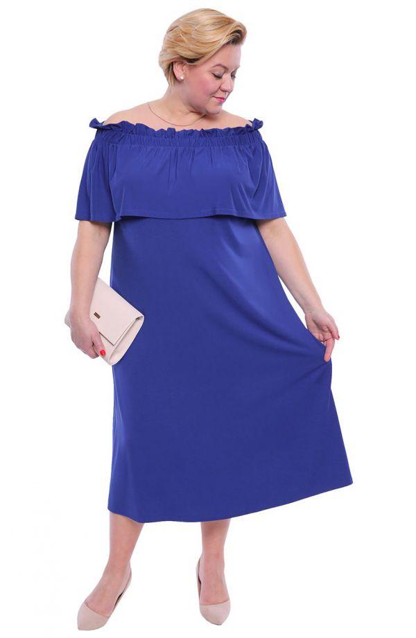 Chabrowa sukienka w stylu hiszpańskim