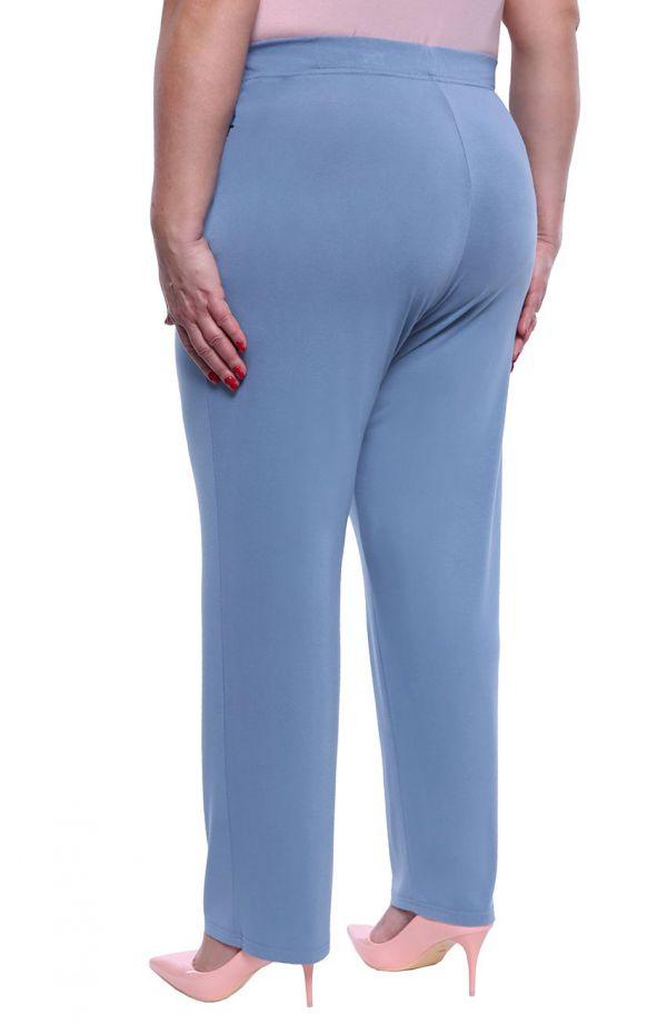 Klasyczne spodnie w jasnoniebieskim kolorze