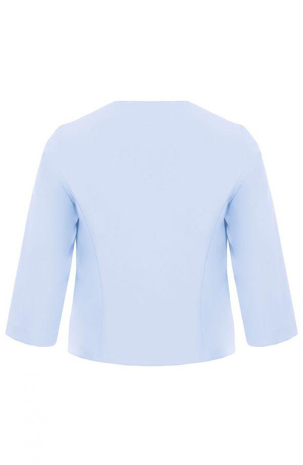 Żakiet w kolorze jasnego błękitu
