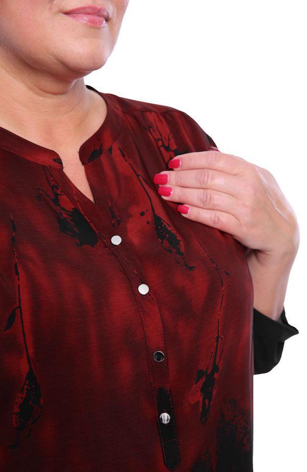 Luźna bluzka wenecka maska