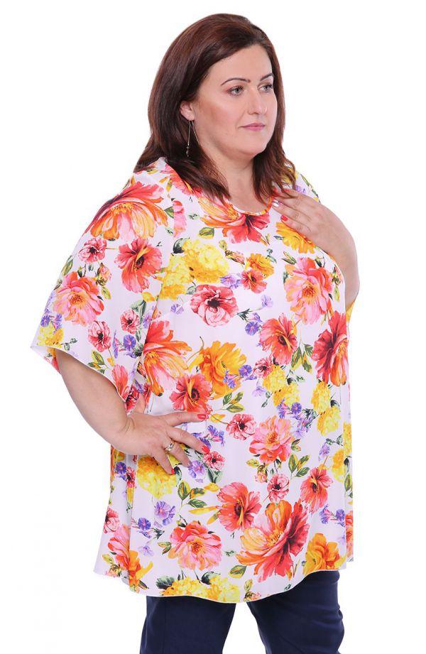 Dwuczęściowa bluzka ogród słoneczny