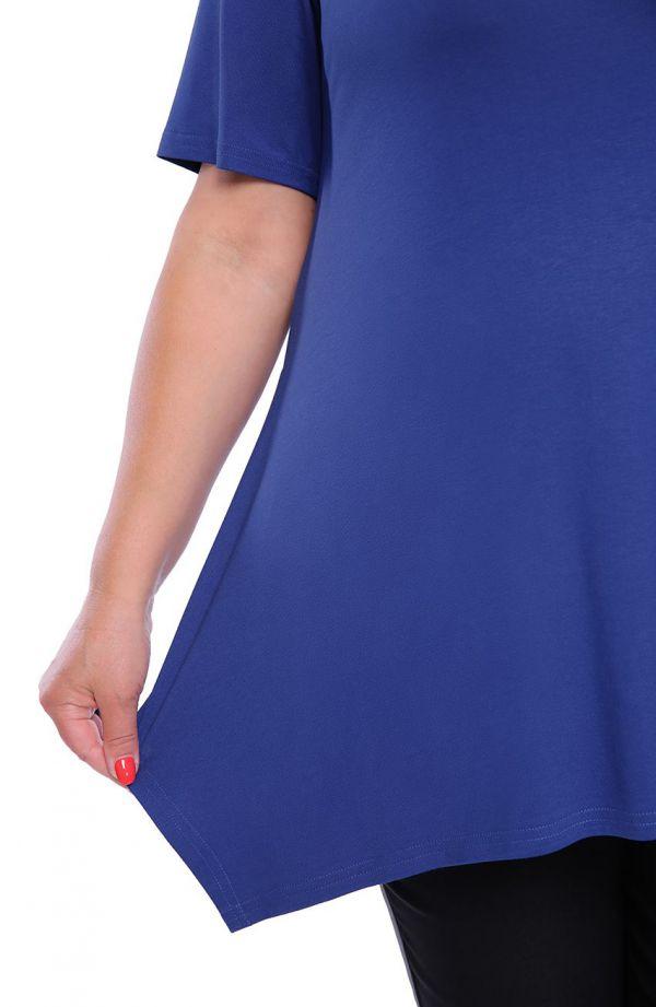 Tunika w szafirowym kolorze