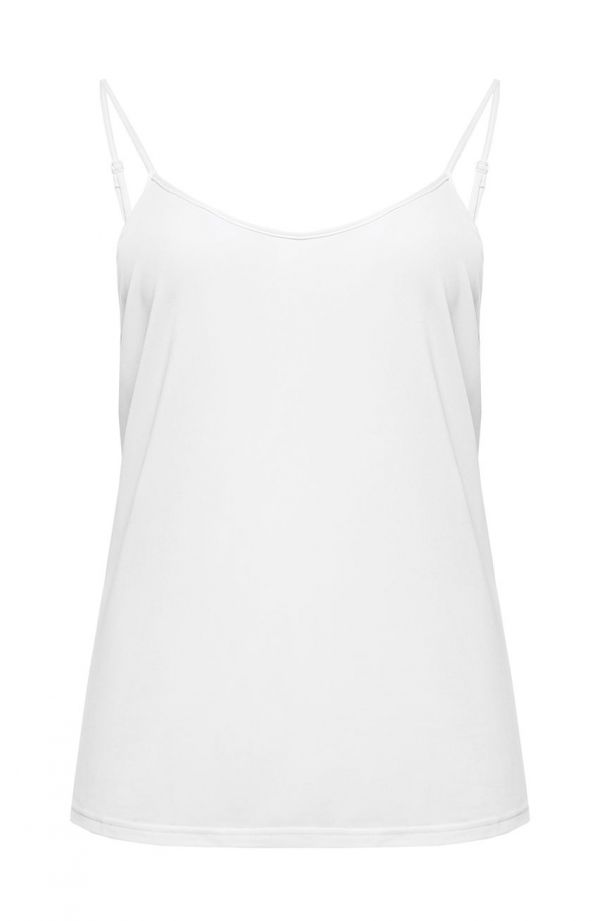 Biała koszulka na ramiączkach Mewa