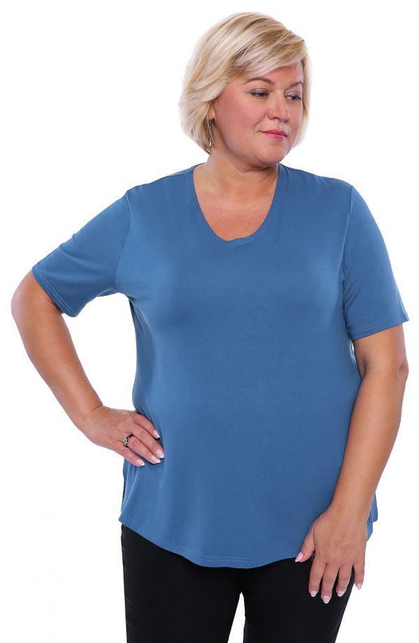 Koszulka w kolorze królewskiego błękitu