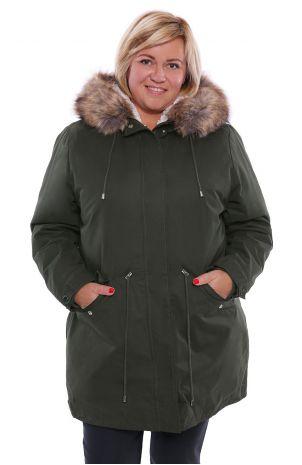kurtka damska parka zimowa duże rozmiary