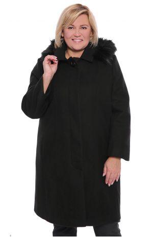 Płaszcze damskie wełniane XXL Modne Duże Rozmiary dla