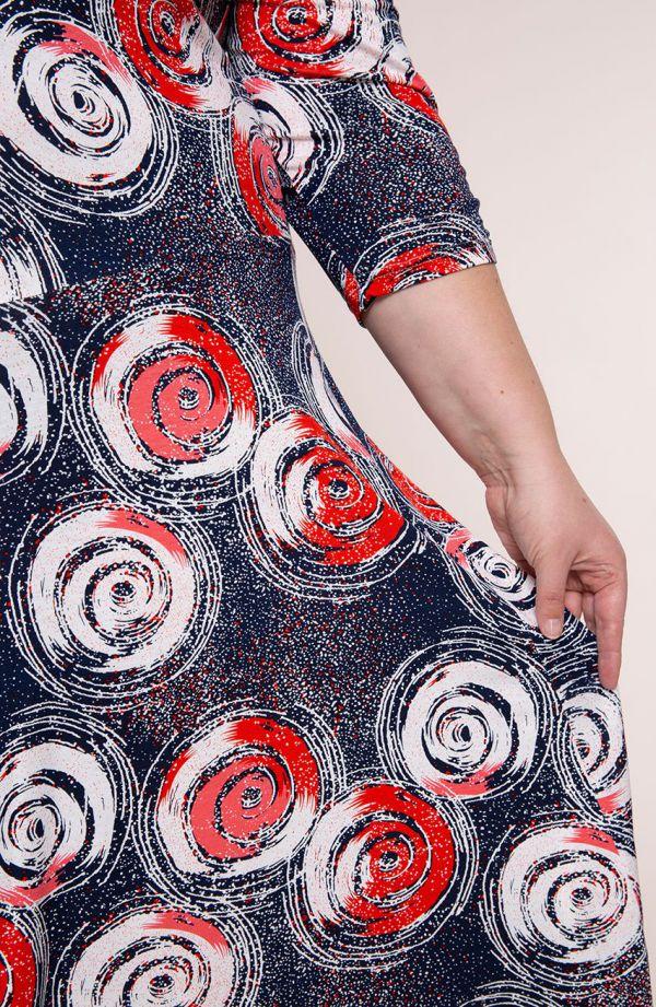 Rozkloszowana sukienka gwiezdne galaktyki