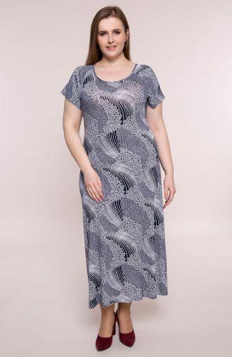 Długa sukienka kwiatowe łąki
