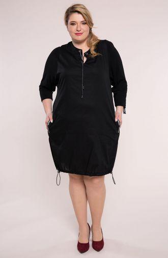 Czarna sportowa sukienka
