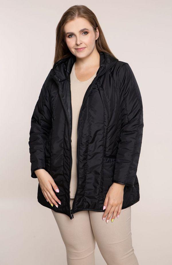 Przejściowa kurtka w czarnym kolorze