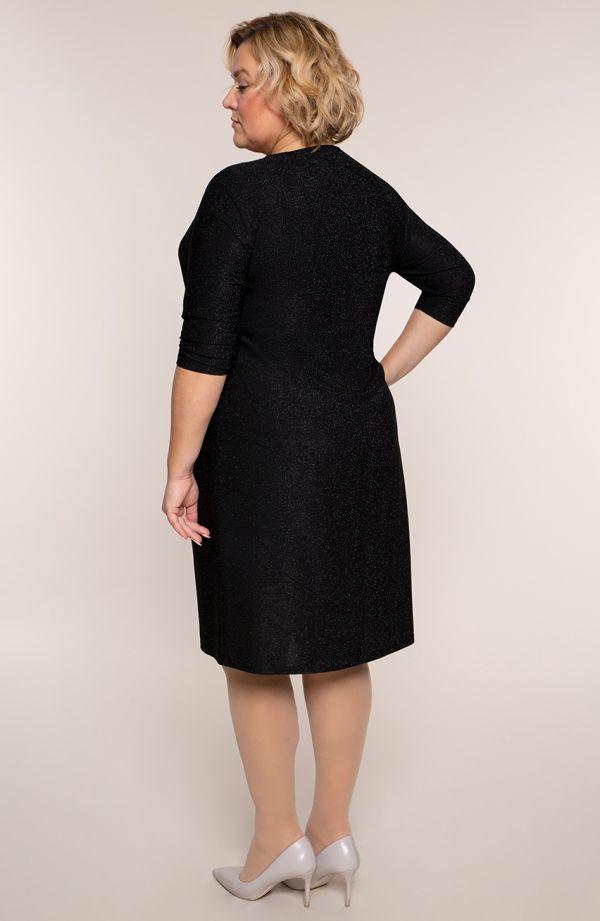 Czarna sukienka gwiezdny pył