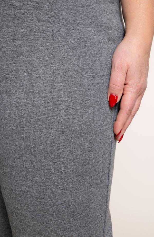 Klasyczne spodnie w szarym kolorze