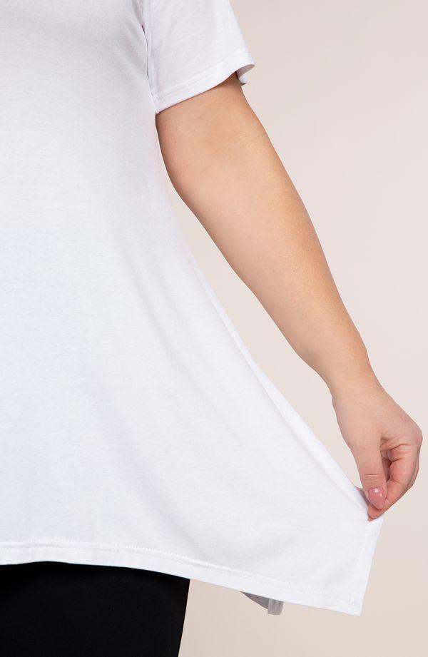 Tunika w kolorze bieli