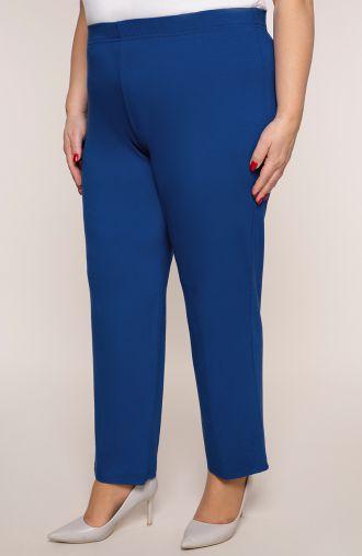 Klasyczne cienkie chabrowe spodnie