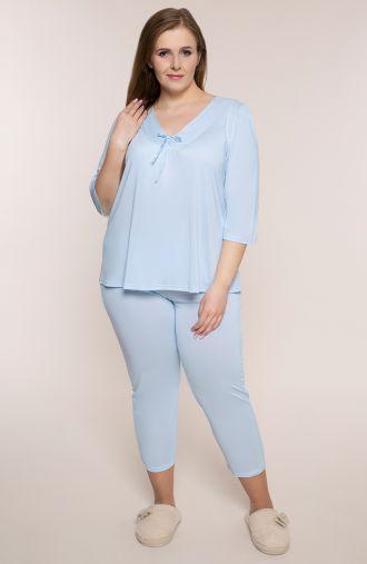 Piżama w niebieskim kolorze Mewa
