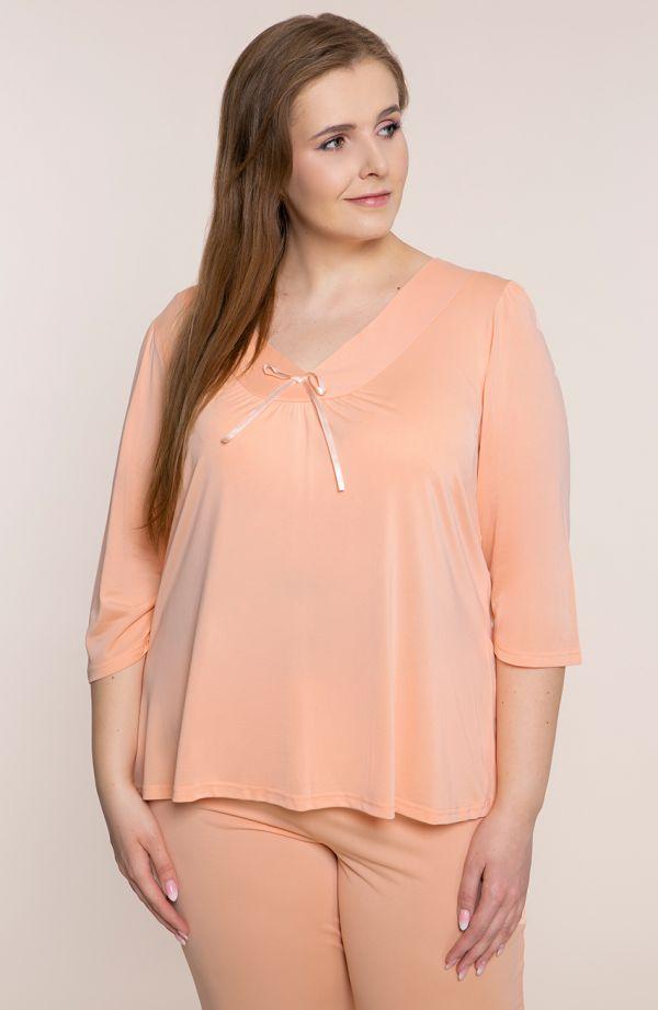 Piżama w kolorze morelowym Mewa
