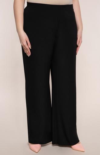 Wizytowe spodnie w czarnym kolorze