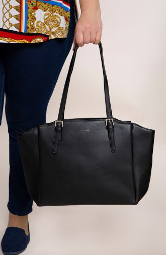 Duża czarna torba David Jones