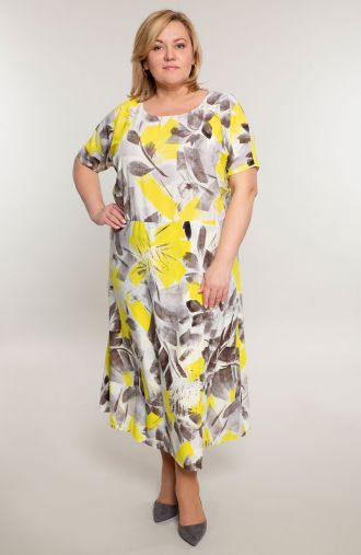Długa lekka sukienka słoneczne lato