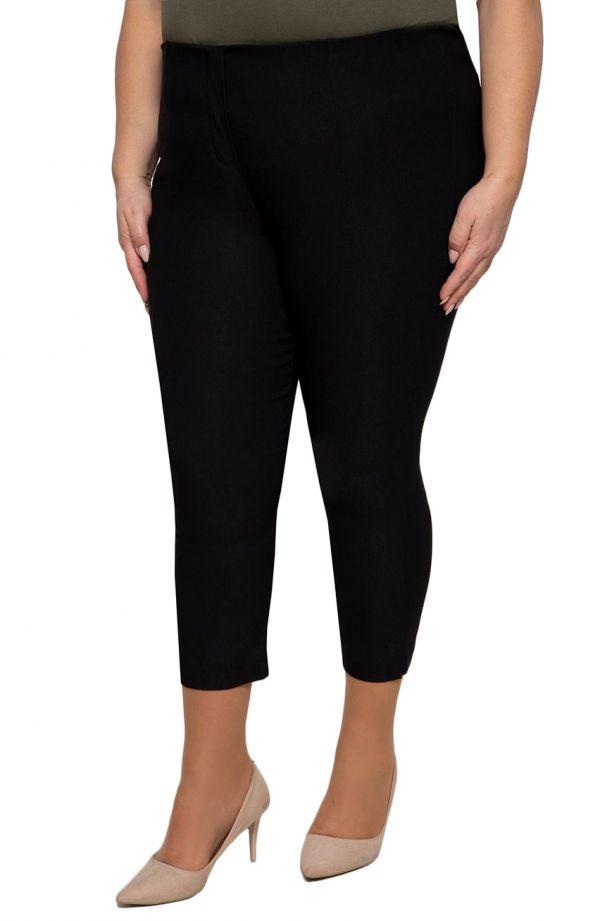 Spodnieplus sizerybaczki w czarnym kolorze