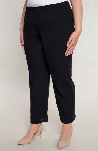 Bawełniane spodnie w czarnym kolorze