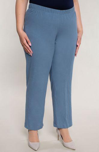 Bawełniane spodnie w niebieskim kolorze