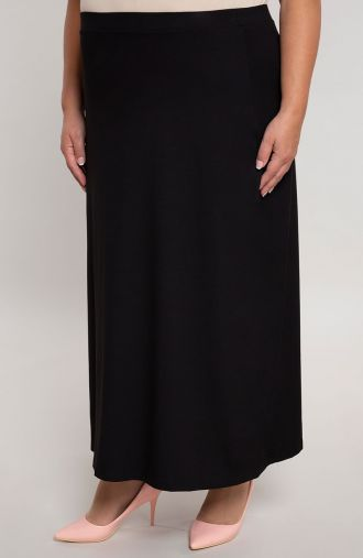 Spódnica maxi w kolorze klasycznej czerni