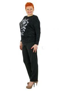 Klasyczne Szare Jesienne Spodnie