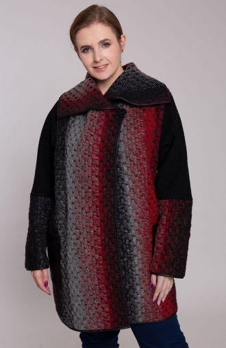 Przejściowy czerwono szary płaszczyk