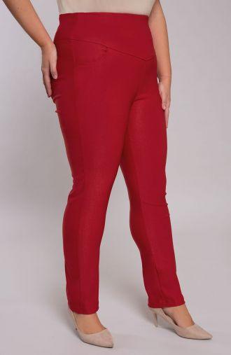 Czerwone cygaretki z modelującym pasem