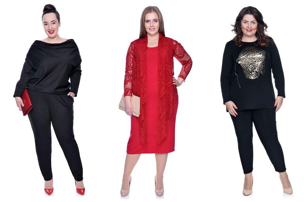 10 modowych trików dla puszystych kobiet Modne Duże Rozmiary