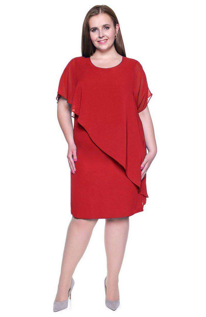58c3f073e5 Tę sukienkę z narzutką w dużych rozmiarach kupisz tutaj