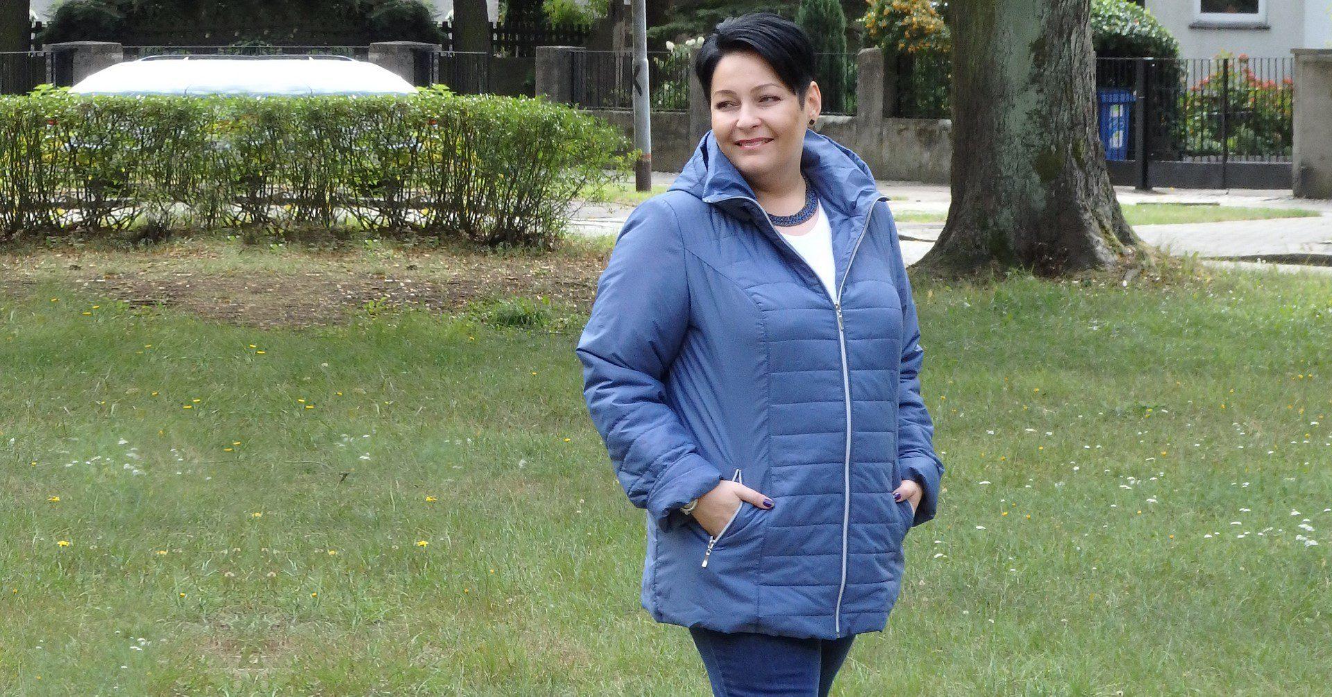 3546dc42 Modna pani plus size – jak wybrać kurtkę jesienną w dużych ...